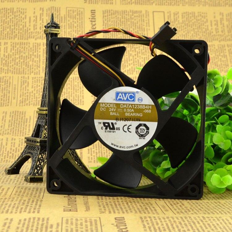 AVC DATA1238B4H 12038 24V 0.50A 12CM cooling fan