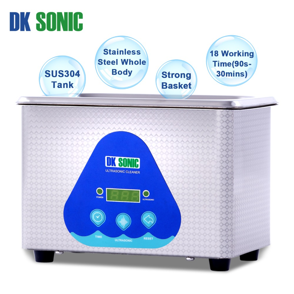 Image 3 - DK SONIC Digital 800ml Ultrasonic Cleaner 35W 42KHz Household Ultrasound Bath for Jewelry Watch Chains Eyeglasses Coins Dental-in Ultrasonic Cleaners from Home Appliances