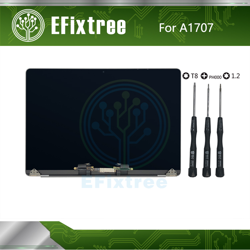 "Full New 2016 2017 Year 15"" A1707 LCD Assembly For Macbook Pro Retina 15.4"" A1707 Screen LED LCD Display EMC 3162 EMC 3072(China)"