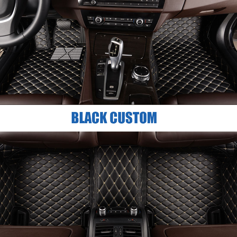 2013-Date Jeep Grand Cherokee New Luxury Black Carpet Tailored Car Floor Mats