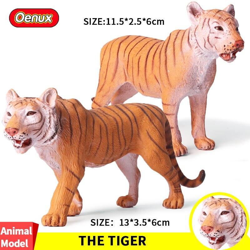 Oenux Original Wild Beast <font><b>Animal</b></font> South China <font><b>Tigers</b></font> Simulation <font><b>Model</b></font> <font><b>Tiger</b></font> <font><b>Sets</b></font> <font><b>Action</b></font> <font><b>Figure</b></font> Collection <font><b>Toys</b></font> For Children