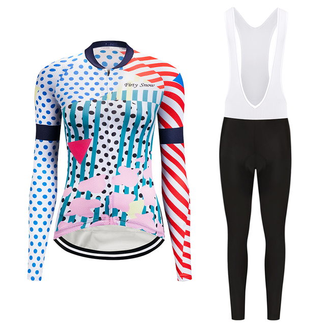 3f70f38e2 Women Teleyi 2018 Cycling Jersey Mtb Mountain Bike Clothes Wear Funny  Cartoon Bicycle Clothing Female Skinsuit Maillot Uniform