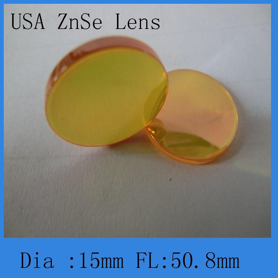 77c3e73381 Menisco struttura ZnSe materiale co2 laser lente di messa a fuoco per 0.59  pollice di diametro 2 pollici lunghezza di messa a fuoco per co2 laser  macchina ...