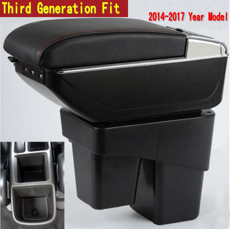 For Honda Fit Jazz 3rd Generation Armrest Box Central