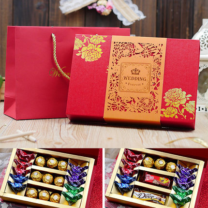 Chinese Gift Box Birthday Party Wedding Anniversary Package