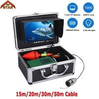 Stardot Dưới Nước Câu Cá trên băng Camera 1000TVL Máy Ảnh 7 inch Không Thấm Nước IP68 Fish Finder Fishing Video Camera Kit