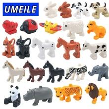 Sada 28 ks zvířátek pro děti k Lego Duplo