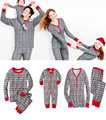 Family Christmas Pajamas Women Men Toddler Boy Girl Clothes Family Matching Clothing Mother Daughter Father Son Bodysuit SM33