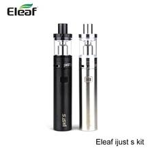 Original eleaf ijust s starter kit de cigarrillo electrónico 3000 mah de batería con 4 ML Atomizador ECL 0.18ohm Cabeza Vs ijust 2 Kit vape