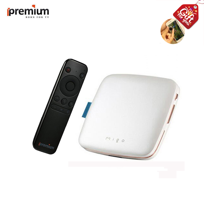 Ipremium Migo Android Smart Stream TV Box 4k H.265 1gb Ram 8GB Rom Built-in WIFI With Free iptv Adult Channels better than HTV ipremium ulive pro tv box android 8gb 4k ultra h 265 tv receiver with mickyhop os and stalker middleware support 10 url adding