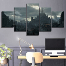 5 Piece Diablo Immortal Game Poster HD Fantasy Art Canvas Paintings Wall Art for Home Decor майка print bar immortal art