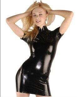 Sexy skin tight latex
