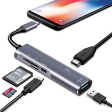 USB C/Thunderbolt 3 ฮับอะแดปเตอร์ HDMI เดสก์ท็อปประสบการณ์สำหรับ Samsung Dex Station MHL Galaxy S8 S9 S10 /Plus Note8/9 Dock ประเภท C