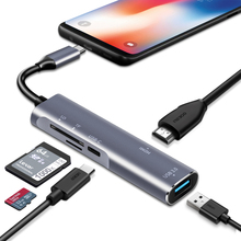 USB C/Thunderbolt 3 to HDMI Adapter Hub Desktop Experience for Samsung Dex Station MHL Galaxy S8 S9 S10/Plus Note8/9 Type C Dock