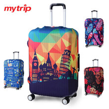 Travel Luggage Suitcase Protective Cover for Trunk Case Apply to 19''-32'' Suitcase Cover Thick Elastic Perfectly