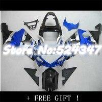 Blue/Silver Fairing Kit For A GSX R1000 GSXR1000 GSX R1000 GSXR 1000 K2 K1 00 01 02 2000 2001 2002 Fairings for Suzuki Nn