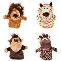 Los Niños del bebé Animal de la Fauna de Guante Marionetas de Mano Juguetes de Peluche Suave 4 Estilos Regalos