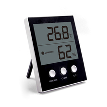 Cheap price EAAGD Digital Hygrometer Indoor Thermometer Humidity Gauge with Jumbo Screen and 3 Button Temperature Humidity Monitor