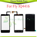 For Fly IQ4416 IQ 4416 Touch Panel Digitizer Screen Front Glass LCD Display