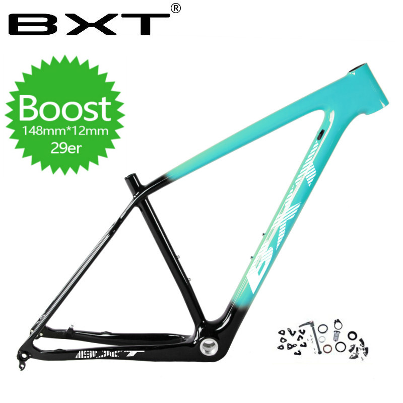 2019 BXT T800 carbon mtb frame 29er mtb carbon frame 29 carbon mountain bike frame Boost