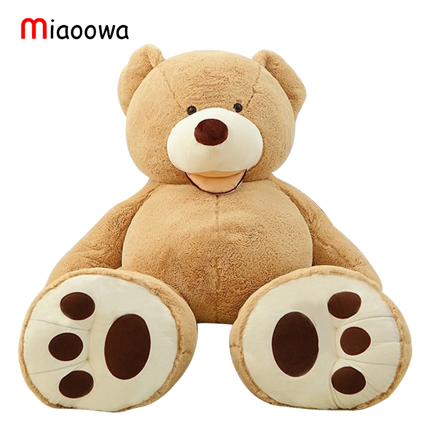 1pc Huge Size 160cm USA Giant Bear Skin Teddy Bear Hull , Super Quality ,Wholesale Price Selling Toys For Girls giant size little marvels avx