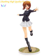 Free Shipping GIRLS und PANZER Anime Nishizumi Miho Chariot Wrap Ver. Action Figures Model Sexy Toy Collection Model SE3
