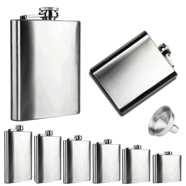 Stainless Steel Hip Flask 1
