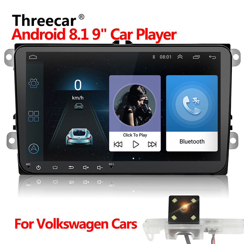 Car DVD GPS android 8.1 Player 2din radio universal Wifi GPS Navigation Audio For Skoda Octavia Fabia Rapid Yeti Superb VW Seat car dvd gps android 8 1 player 2din radio universal wifi gps navigation audio for skoda octavia fabia rapid yeti superb vw seat