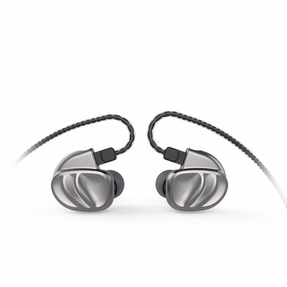 BQEYZ KC2 2BA + 2DD Hybride Dans L'oreille Écouteurs Intra-auriculaires HIFI Basse DJ Monito de Course Sport Écouteurs Boules Quies Casque Intra-auriculaires avec Mic