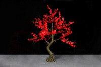 1.8 m 6ft 768 Led rouge LED Cherry Blossom Arbre Lumière simulation De Mariage Jardin patio Vacances De Noël Nouvel an Lumière
