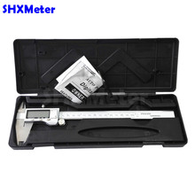 0-200mm 8inch Stainless steel Electronic Digital Vernier Caliper Pachymeter  Calipers 200mm  Metal Casing  With Retail Box