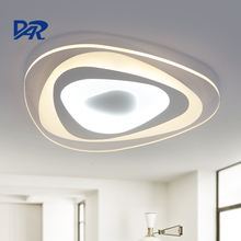 Fashion geometric triangles luminaria led ceiling lights for living/dining/study room home lighting fixtures luminaria de teto