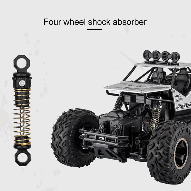 1/16 4WD RC Car Updated Version 2.4G Radio Control RC Cars Toys Bigfoot Car Model Vehicle Toys For Children Gift Dropshipping 3