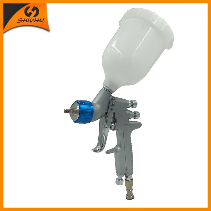 SAT0080 China spray gun air pressure guns paint spray gun professional air spray paint gun pneumatic sprayer car power tools r 71g airbrush air compressed spray gun auto paint pneumatic gun car spray paint guns painting automotive paint power tools
