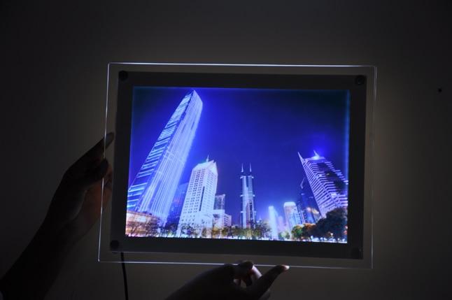 Compare prices on illuminated picture frames online - Cadre photo plexiglas a4 ...