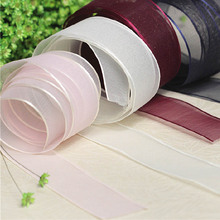 3cm*1yard Chiffon ribbon trimming for clothing wedding dresses DIY sewing accessories trim tailor