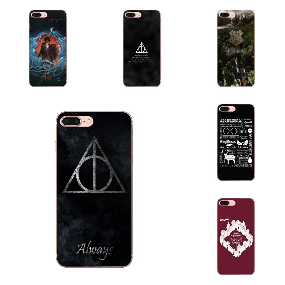 For Samsung Galaxy Note 5 8 9 S3 S4 S5 S6 S7 S8 S9 S10 mini Edge Plus Lite Pattern Phone Case Stunningharry Potter Magic Spell image