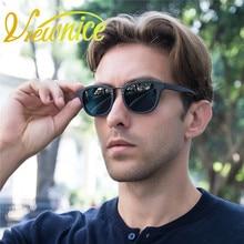 Viewnice Fashion Retro Sunglasses Men lentes de sol mujer d square eyewear Brand Polaroid polarized Glasses Single Bridge V1288