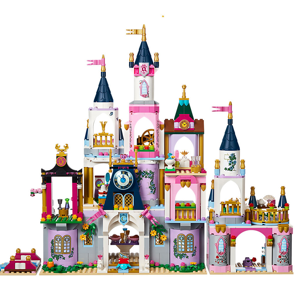 New Princess Series The Dream Castle Legoings City Model Building Blocks Bricks Educational Toys For Kids Brithday Gifts