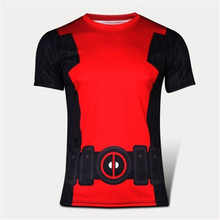 Brand new die shi short sleeve T-shirt spider-man captain America, iron man superman male summer wholesale and retail