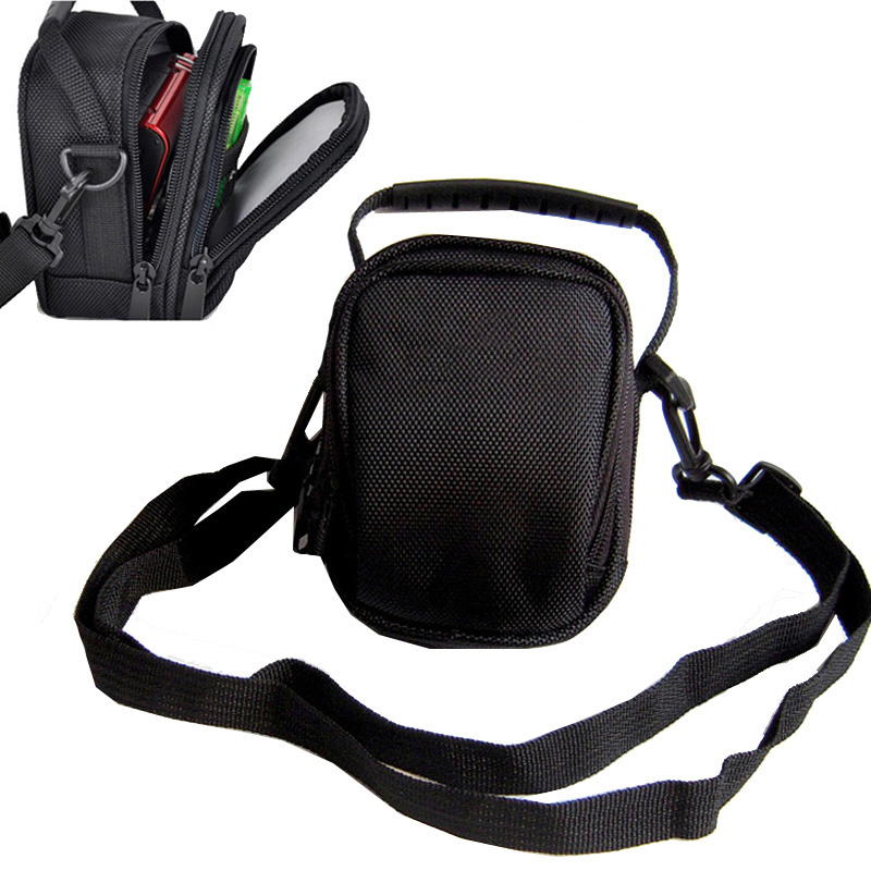 digital Camera Bag For <font><b>Panasonic</b></font> <font><b>LUMIX</b></font> DMC-ZS110 ZS100 ZS60 ZS50 ZS45 ZS40 ZS35 ZS30 ZS20 LX10 <font><b>LX100</b></font> TZ85 protective case pouch image
