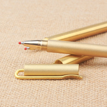 DIY Drawing Brass Pen Vintage Pure Copper Metal Signature  Handmade Frosted BD045