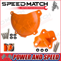 Clutch Cover Protection Cover Water Pump Cover Protector For KTM 350 EXC F EXCF 2012 2013