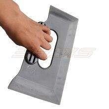 EHDISฟิล์มไวนิลรถWrapการ์ดไม้กวาดมือจับสีเทาน้ำWiper Scraper Window Tintเครื่องมือทำความสะอาดในครัวเรือนสติกเกอร์Snow Shovel