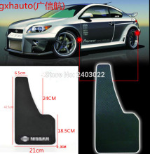 Free shipping Top racing universal Truck Mudguard Auto Front Rear Wheel Black Plastic Mud Flaps Guard Car Fender two pcs