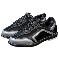 High Quality Unisex Bowling Shoes Right Hand Anti Skid Outsole Sneakers Genuine Leather Breathable Men Sneakers