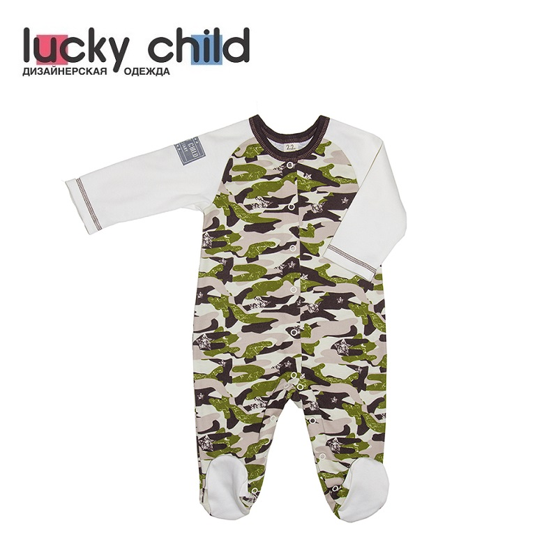 Jumpsuit Lucky Child for girls and boys 31-1 Military Children's clothes kids Rompers for baby overalls lucky child for girls and boys 8 1 baby rompers children clothes
