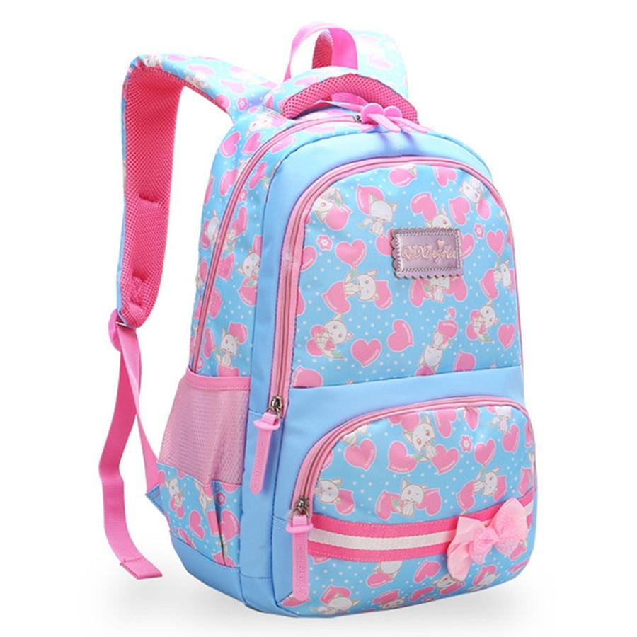 chidren School Bags Girls primary school Backpack Orthopedic schoolbag Backpack kids satchel bookbag mochila infantil sac enfant