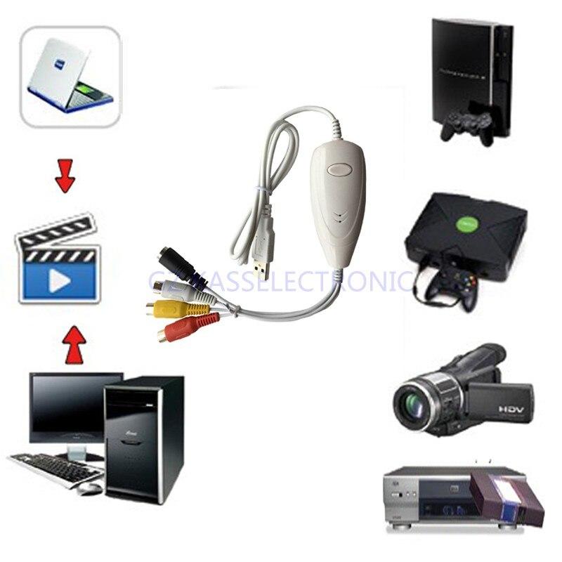 Freies Verschiffen Vhs Analog-digital Video Converter 10 & Mac Os Konvertieren Alten Analogen Video Audio Zu Digital Für Windows7 8
