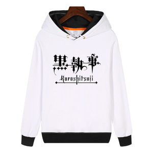 Image 2 - FOR Kuroshitsuji Black Butler Hoodies fashion men women Sweatshirts winter Streetwear Hip hop Hoody Sportswear GA609